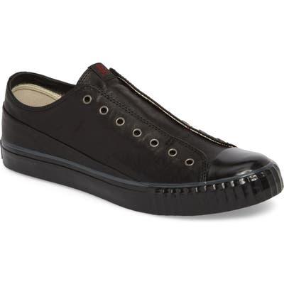 Bootleg By John Varvatos Laceless Low Top Sneaker, Black