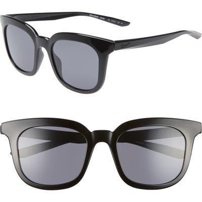 Nike Myriad 52Mm Square Sunglasses - Black/ Dark Grey
