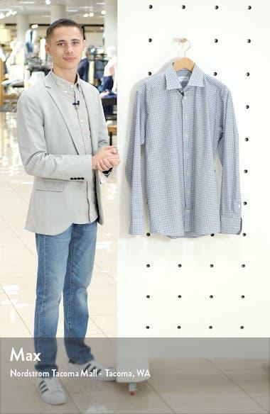 Contemporary Fit Check Print Dress Shirt, sales video thumbnail