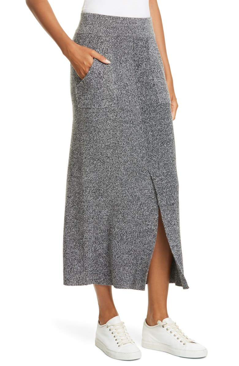JUDITH & CHARLES Lesina Wool Maxi Skirt, Main, color, 020