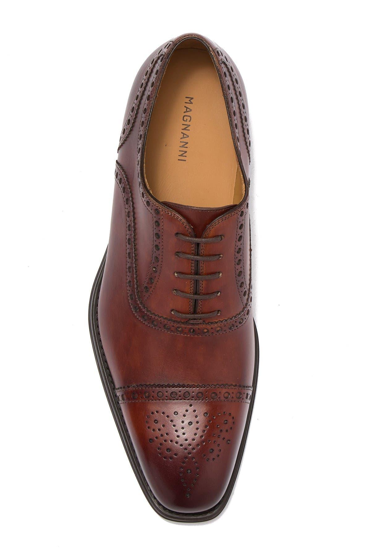 Magnanni | Cieza Leather Cap Toe Oxford