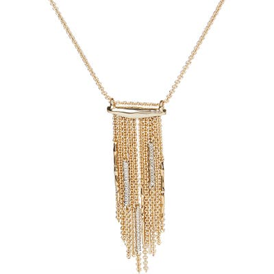 Alexis Bittar Fringe Pendant Necklace
