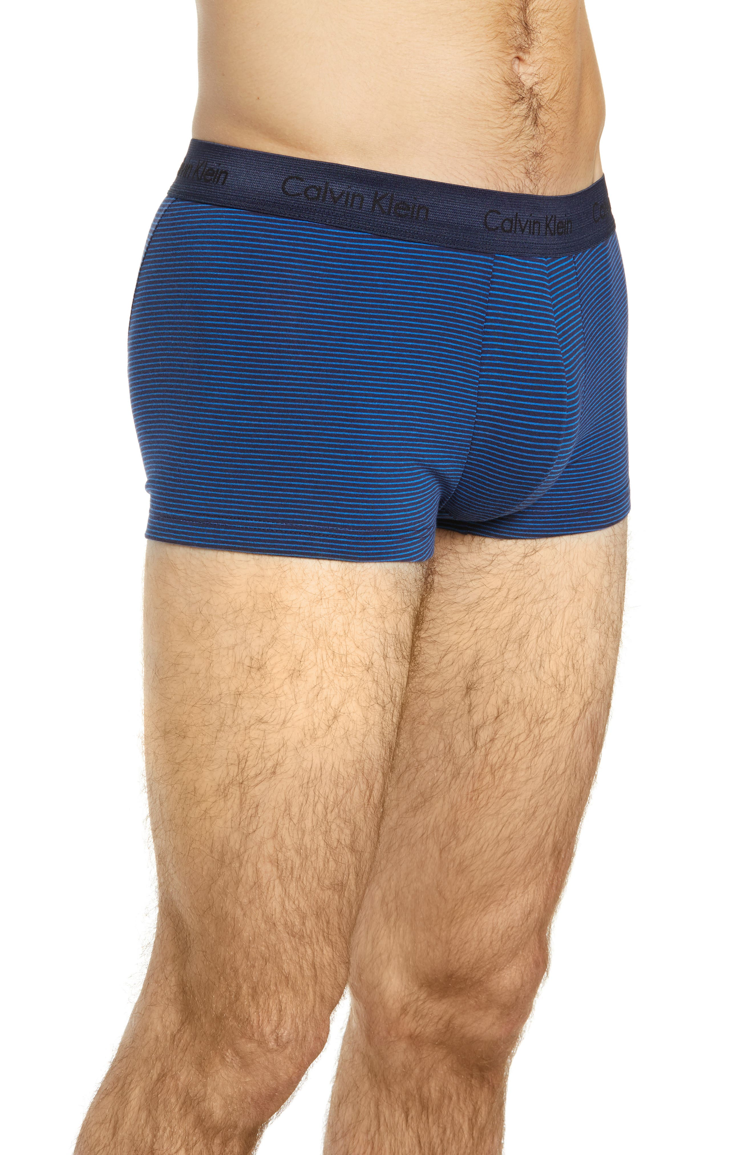 ,                             3-Pack Stretch Cotton Low Rise Trunks,                             Alternate thumbnail 182, color,                             439