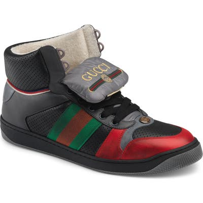 Gucci Screener Sneaker, Red