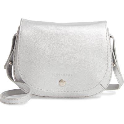 Longchamp Small Le Foulonne Leather Crossbody Bag -