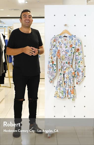 Farrow Floral Long Sleeve Dress, sales video thumbnail