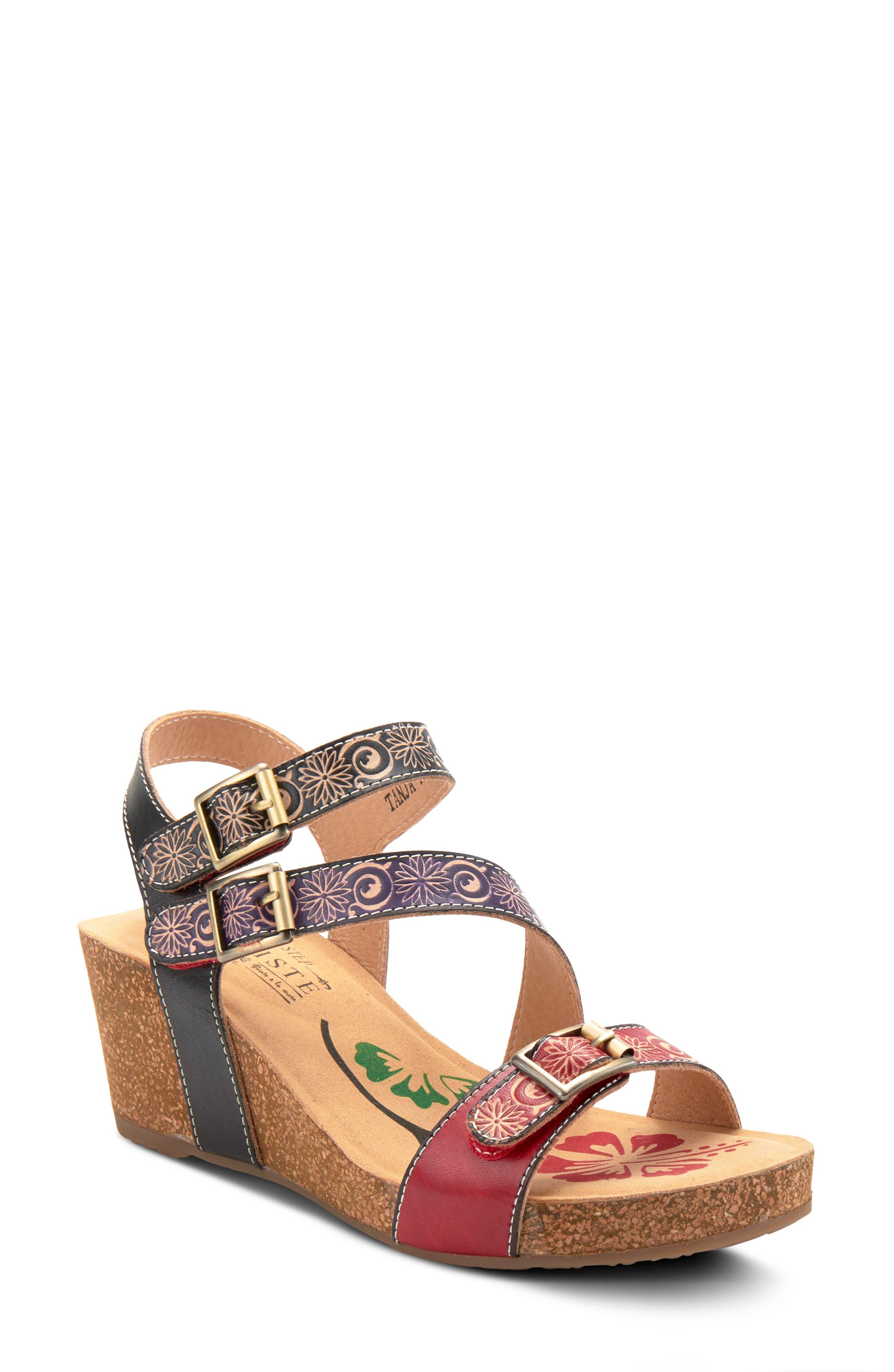 Tanja Wedge Sandal