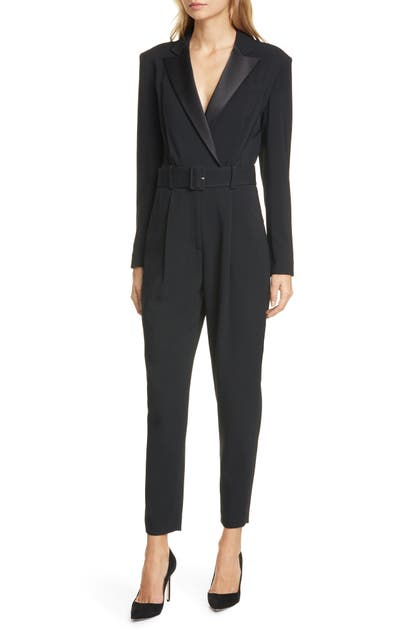 A.l.c Suits KILLIAN BELTED TAPERED JUMPSUIT