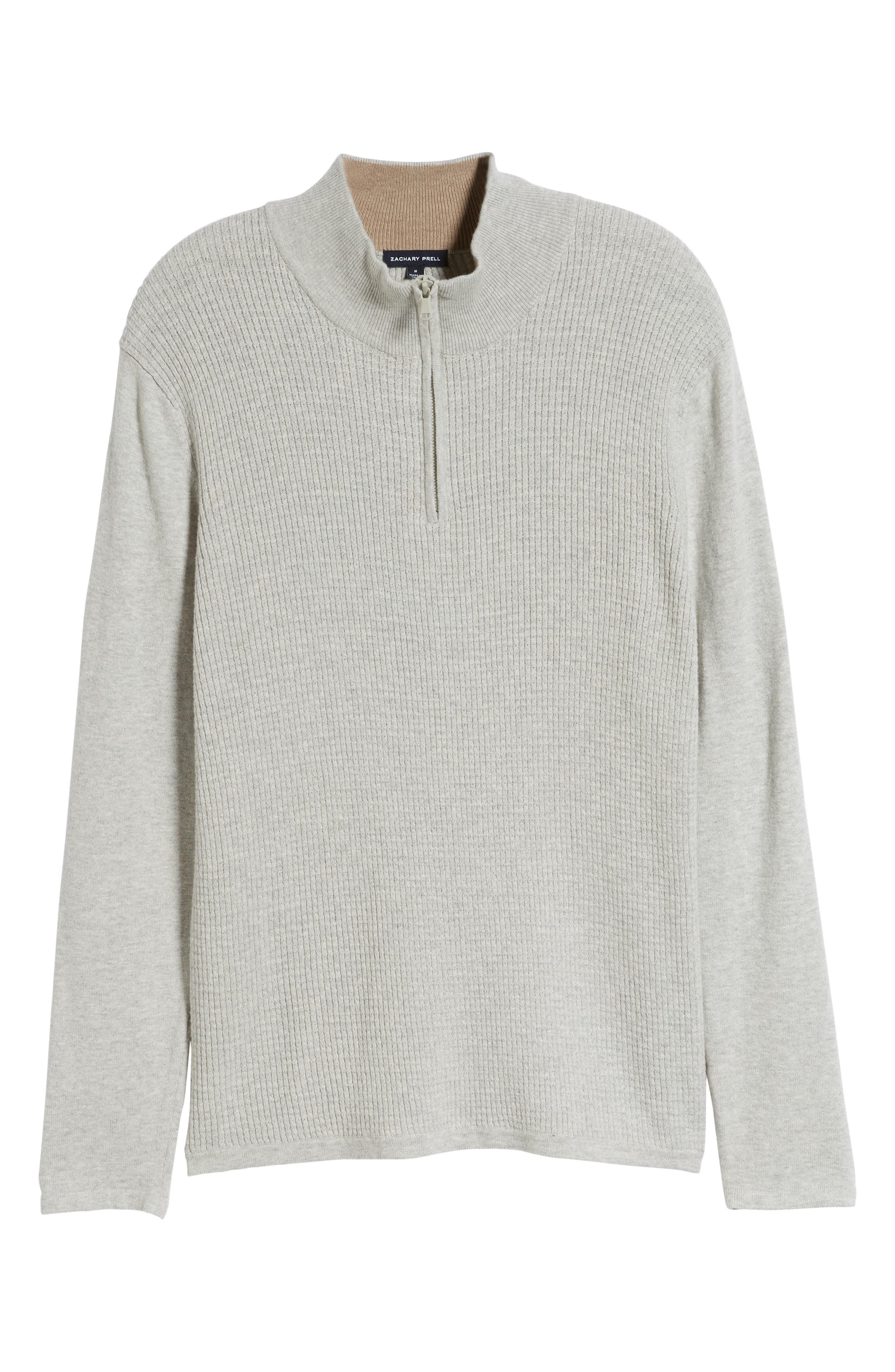 ,                             Higgins Quarter Zip Sweater,                             Alternate thumbnail 12, color,                             102