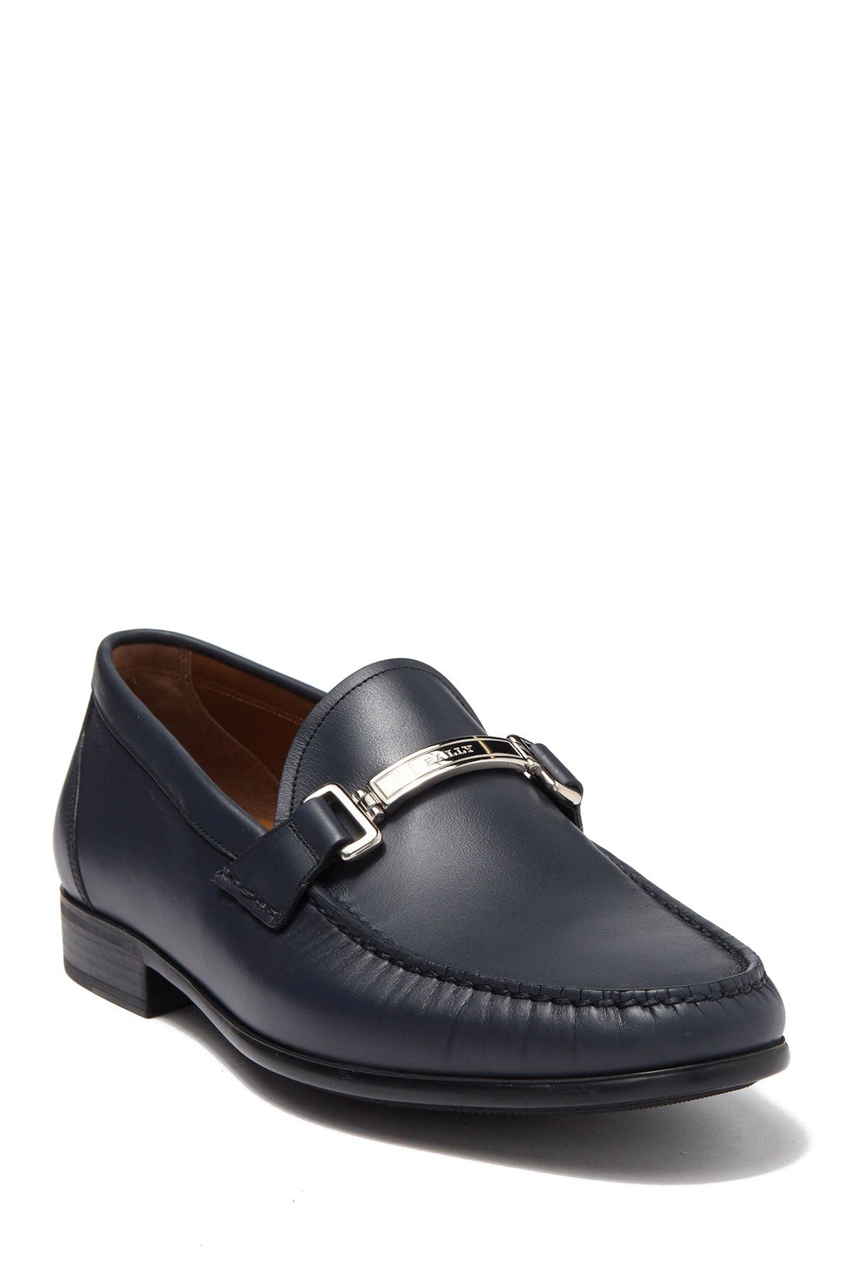 Image of BALLY Tecno Leather Loafer