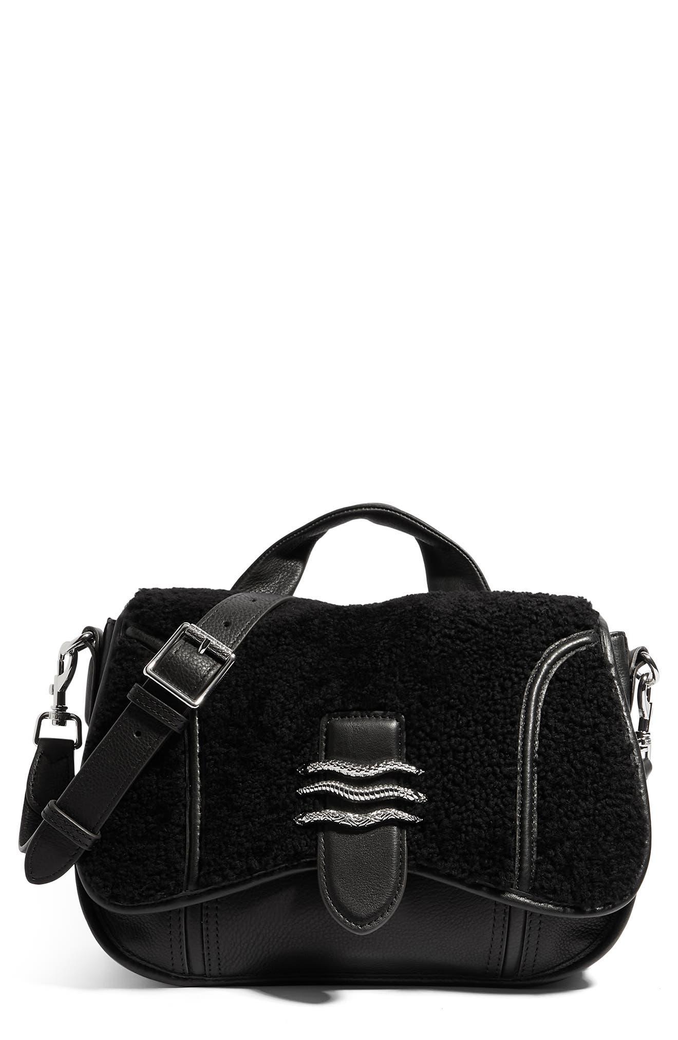 Fierce & Fab Saddle Bag
