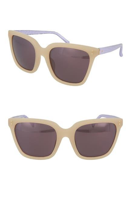Image of Linda Farrow 58mm Novelty Sunglasses