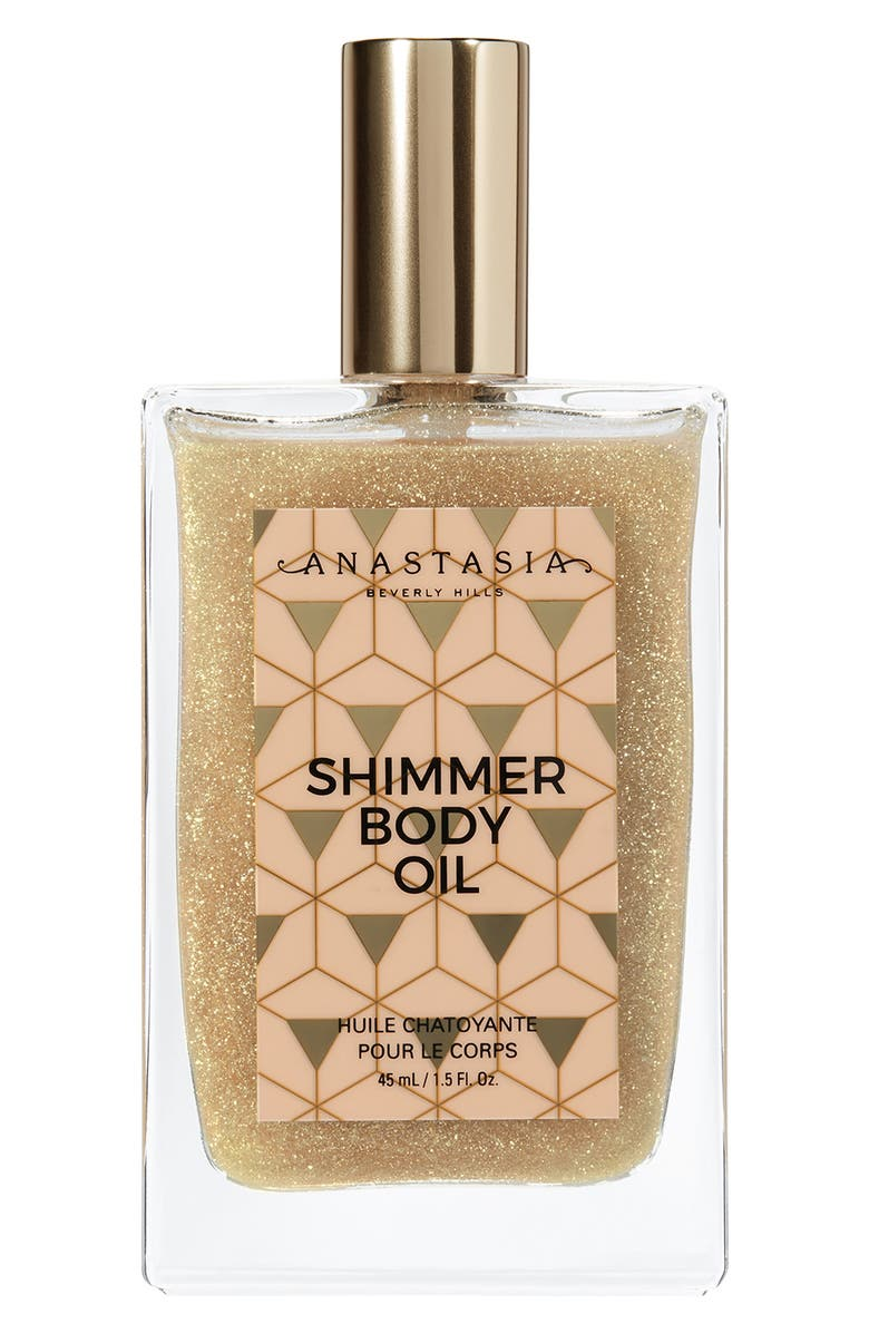 ANASTASIA BEVERLY HILLS Shimmer Body Oil, Main, color, NO COLOR