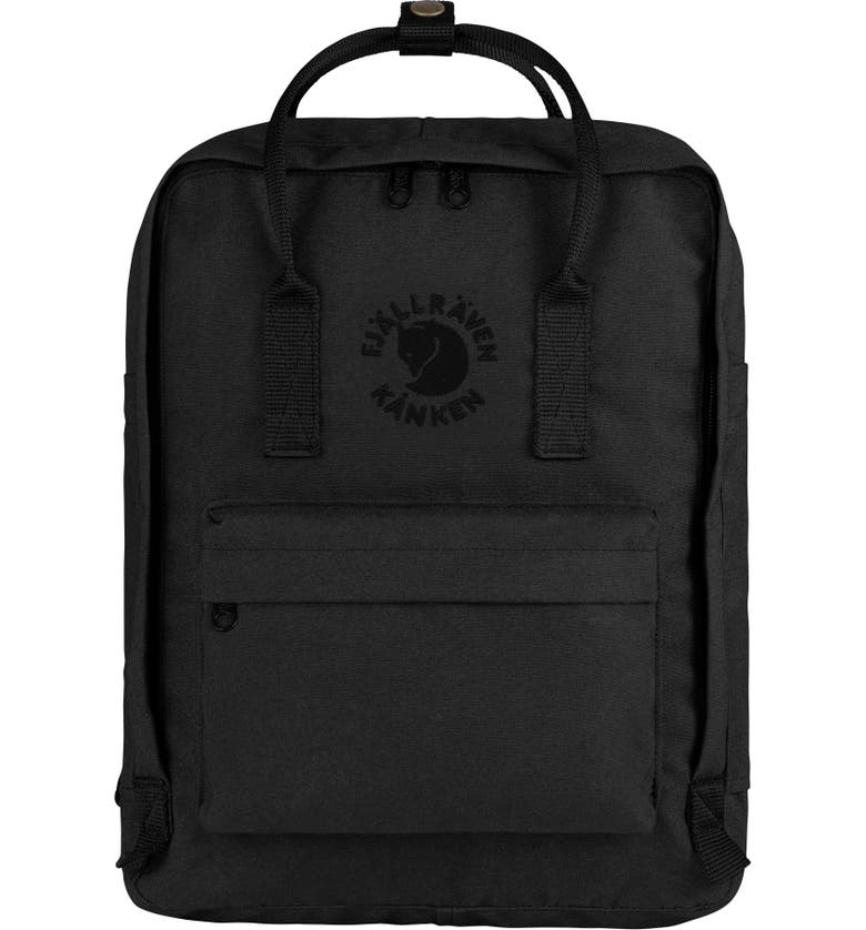 FJÄLLRÄVEN Re-Kånken Water Resistant Backpack, Main, color, 005