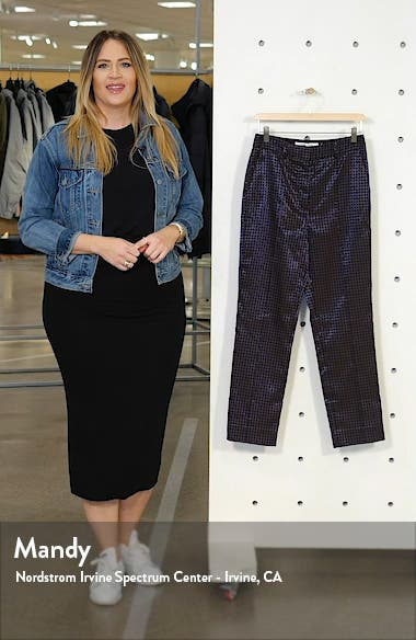 Linda Dot Jacquard Trousers, sales video thumbnail