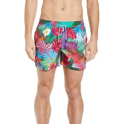Nikben Eggstravaganza Swim Trunks, Blue