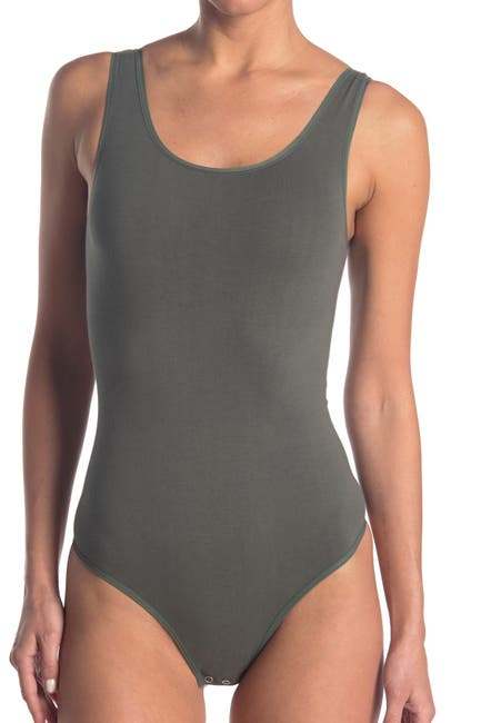 Image of Yummie by Heather Thomson Ruby Scoop Neck Shaping Thong Bodysuit