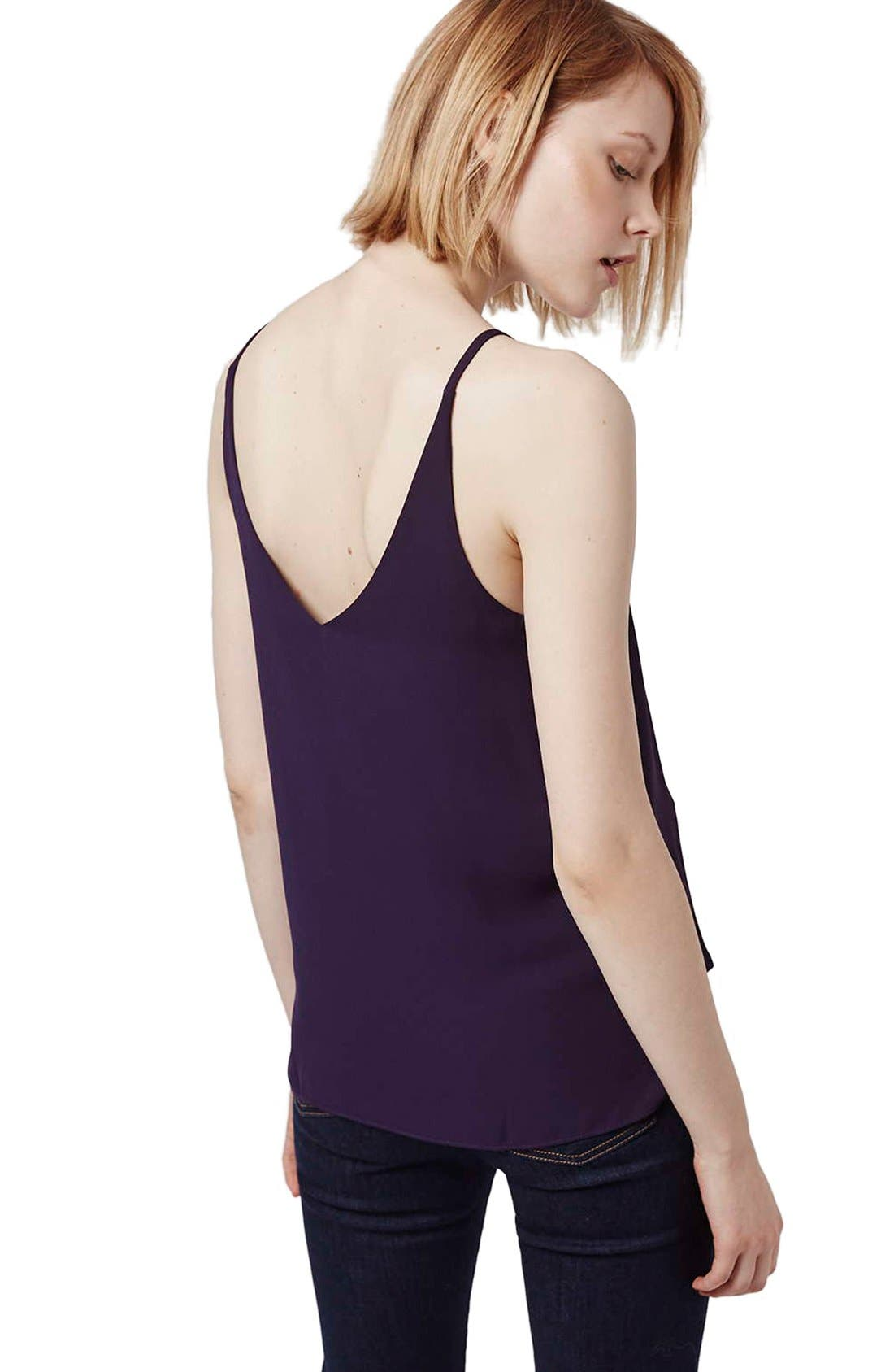 ,                             Strappy V-Neck Camisole,                             Alternate thumbnail 45, color,                             501
