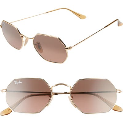 Ray-Ban 5m Octagonal Sunglasses - Gold