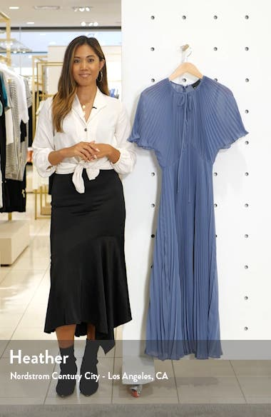 Pleated Chiffon Gown, sales video thumbnail