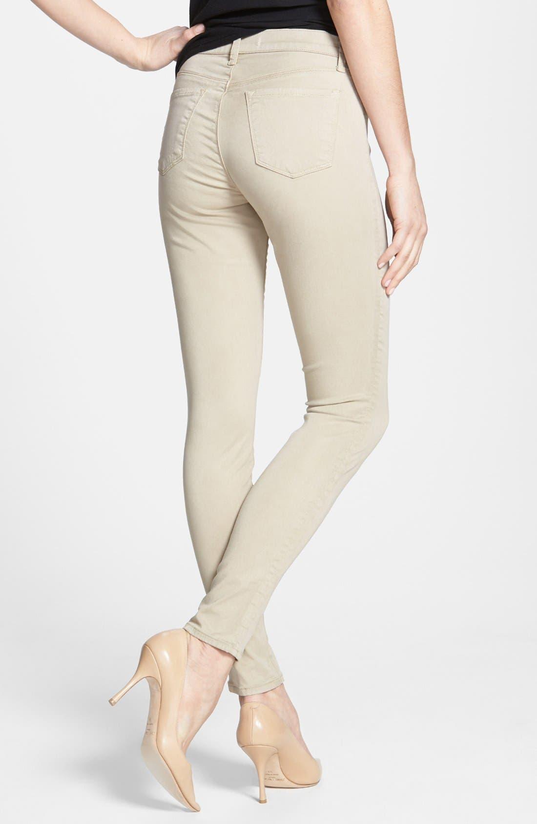 ,                             '485' Mid Rise Super Skinny Jeans,                             Alternate thumbnail 18, color,                             250