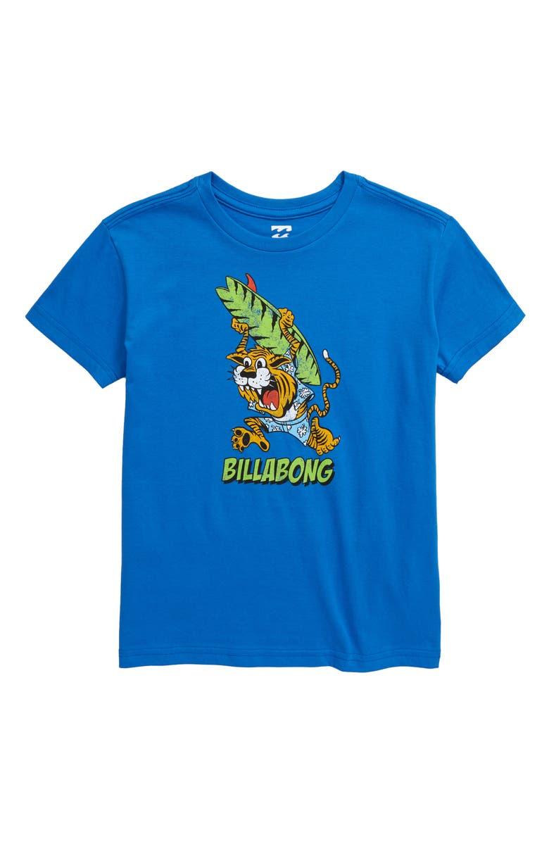 BILLABONG Tigey Graphic T-Shirt, Main, color, ROYAL