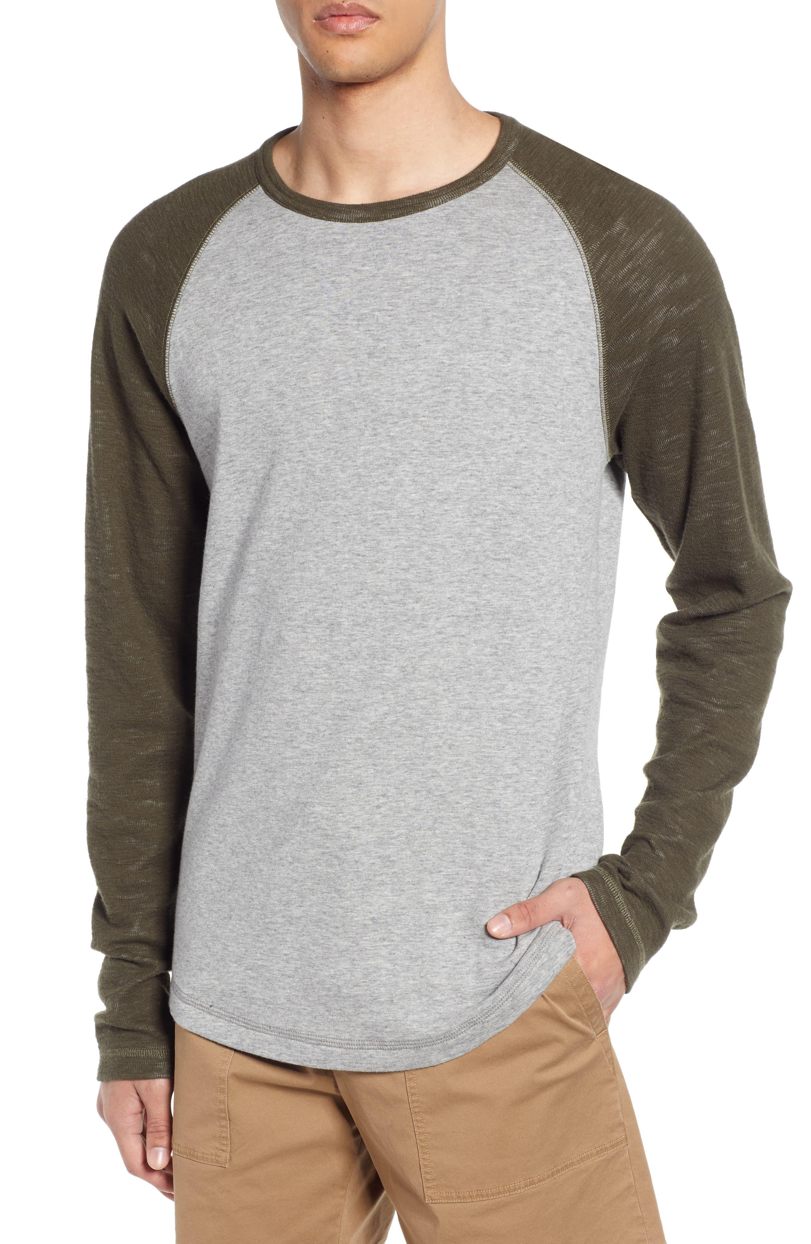 Image of Vince Long Sleeve Raglan T-Shirt