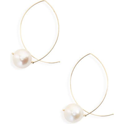 Mizuki Sea Of Beauty Baroque Pearl Earrings