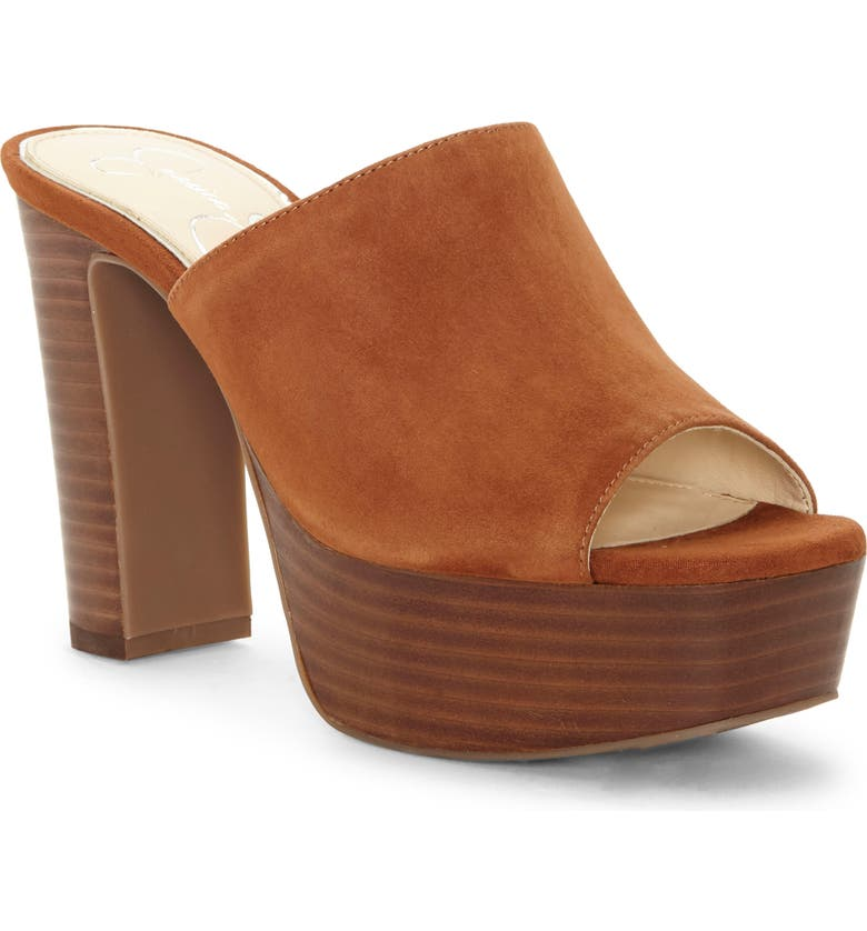 JESSICA SIMPSON Camree Platform Sandal, Main, color, TOASTED TAN