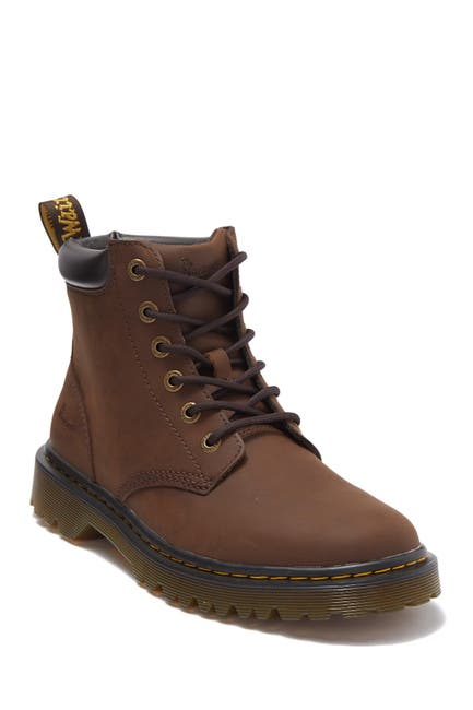 Image of Dr. Martens Cartor Leather Lace-Up Boot