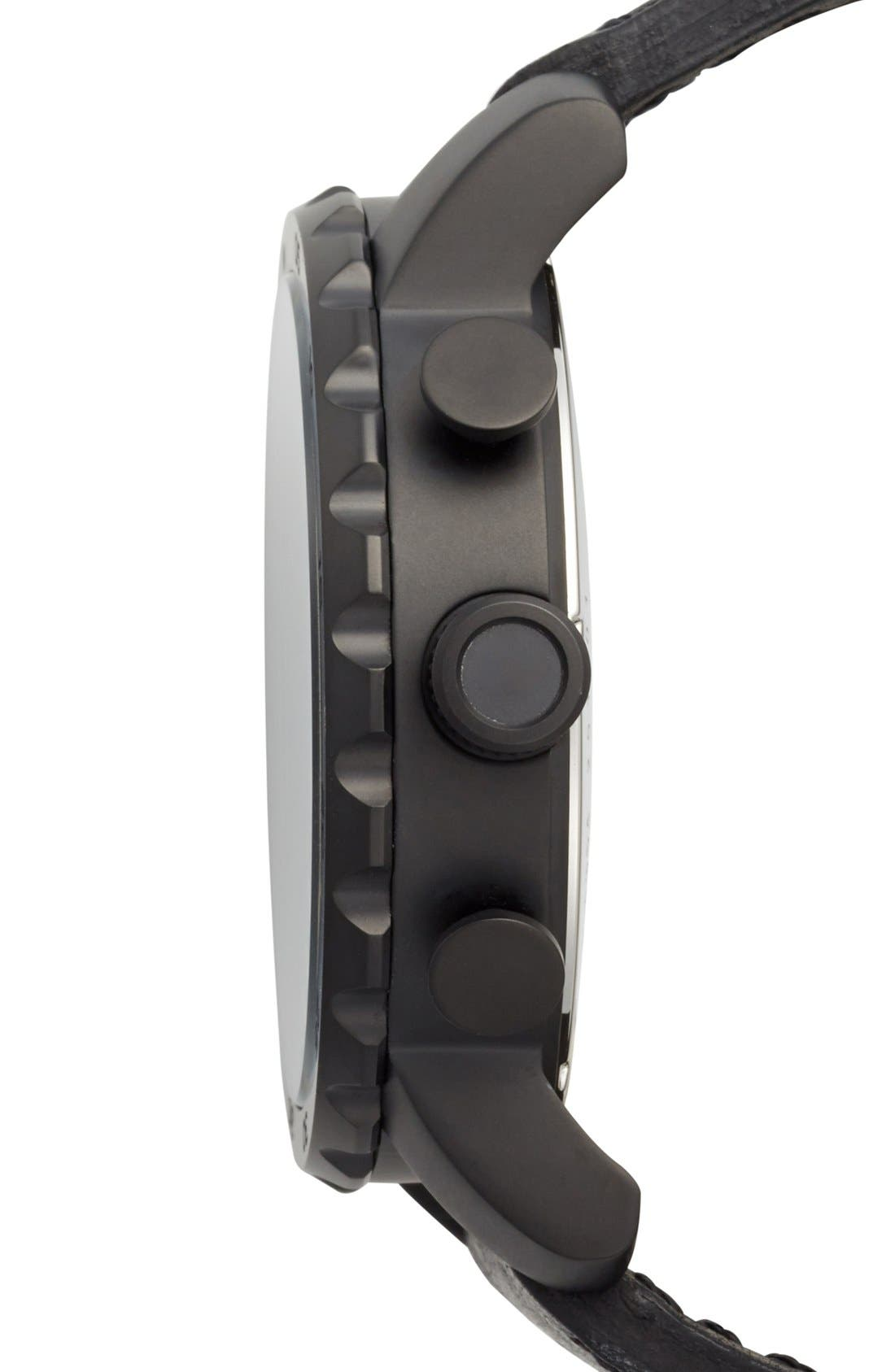 ,                             'Nate IP' Chronograph Watch, 50mm,                             Alternate thumbnail 4, color,                             001