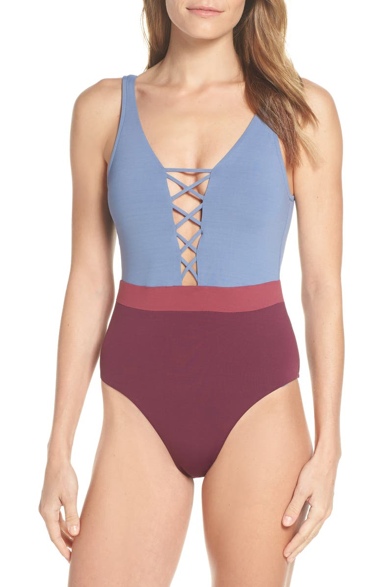 SEAFOLLY Radiance One-Piece Swimsuit, Main, color, 020