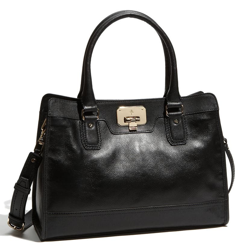 COLE HAAN 'Vintage Valise - Kendra' Tote, Main, color, 001