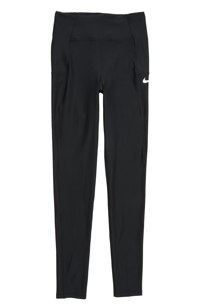 NIKE Training Tights, Main, color, 010