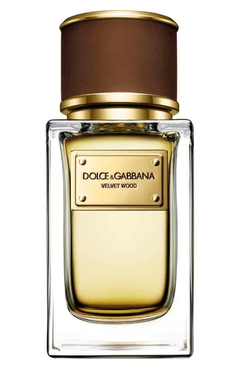 DOLCE&GABBANA BEAUTY Velvet Wood Eau de Parfum, Main, color, 000