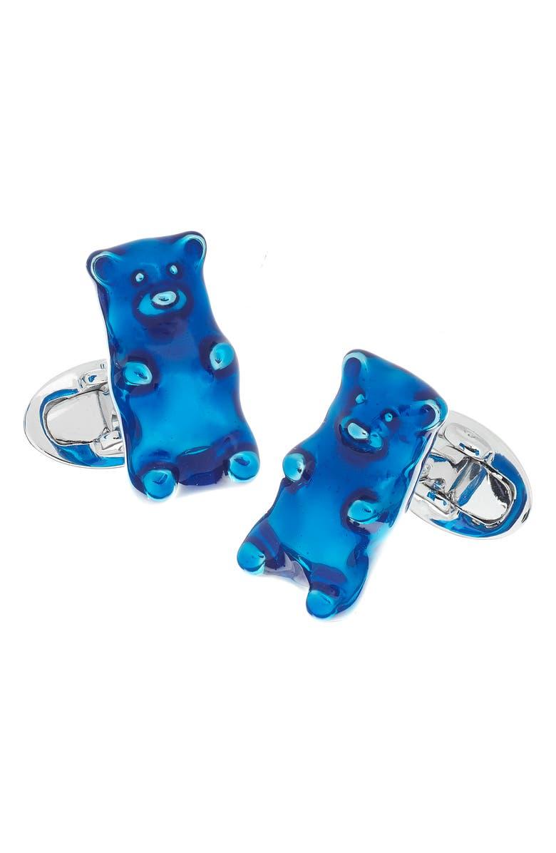JAN LESLIE Gummy Bear Cuff Links, Main, color, 400