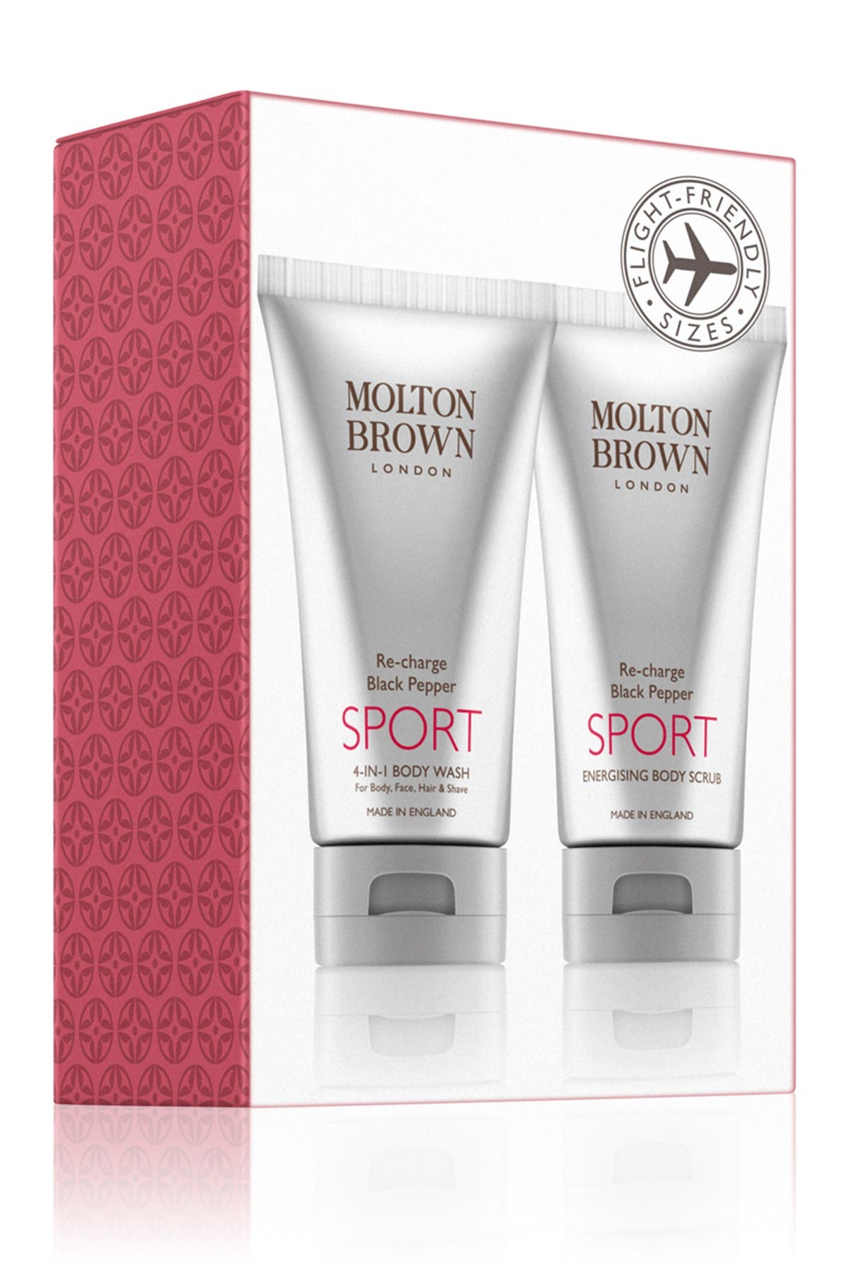 Image of Molton Brown Re-charge Black Pepper SPORT Travel Gift