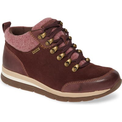 Bionica Tierra Lace-Up Boot, Burgundy