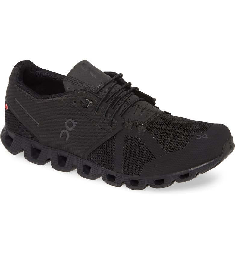 ON Cloud Running Shoe, Main, color, ALL BLACK