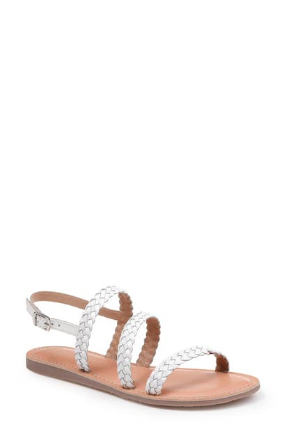 Splendid Sandals TRUMAN BRAIDED SLINGBACK SANDAL