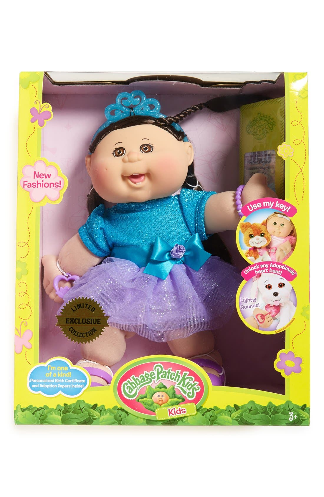 ,                             Soft Sculpted Cabbage Patch Doll,                             Main thumbnail 9, color,                             201