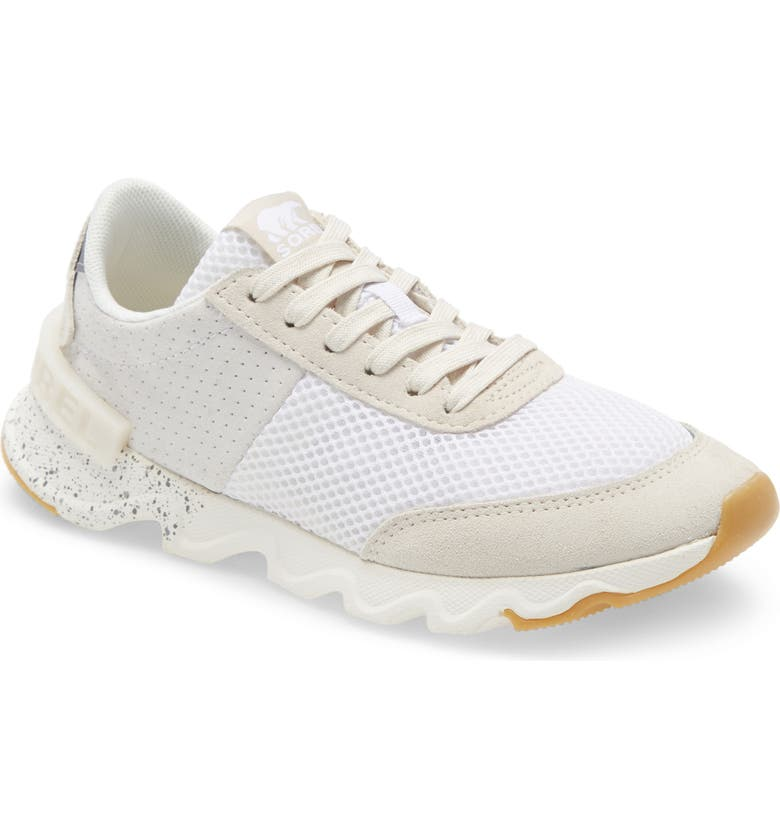 SOREL Kinetic Lite Sneaker, Main, color, WHITE SUEDE