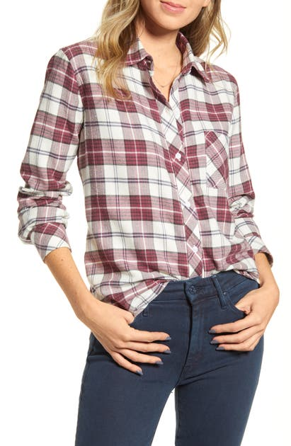 Rails T-shirts HUNTER PLAID SHIRT