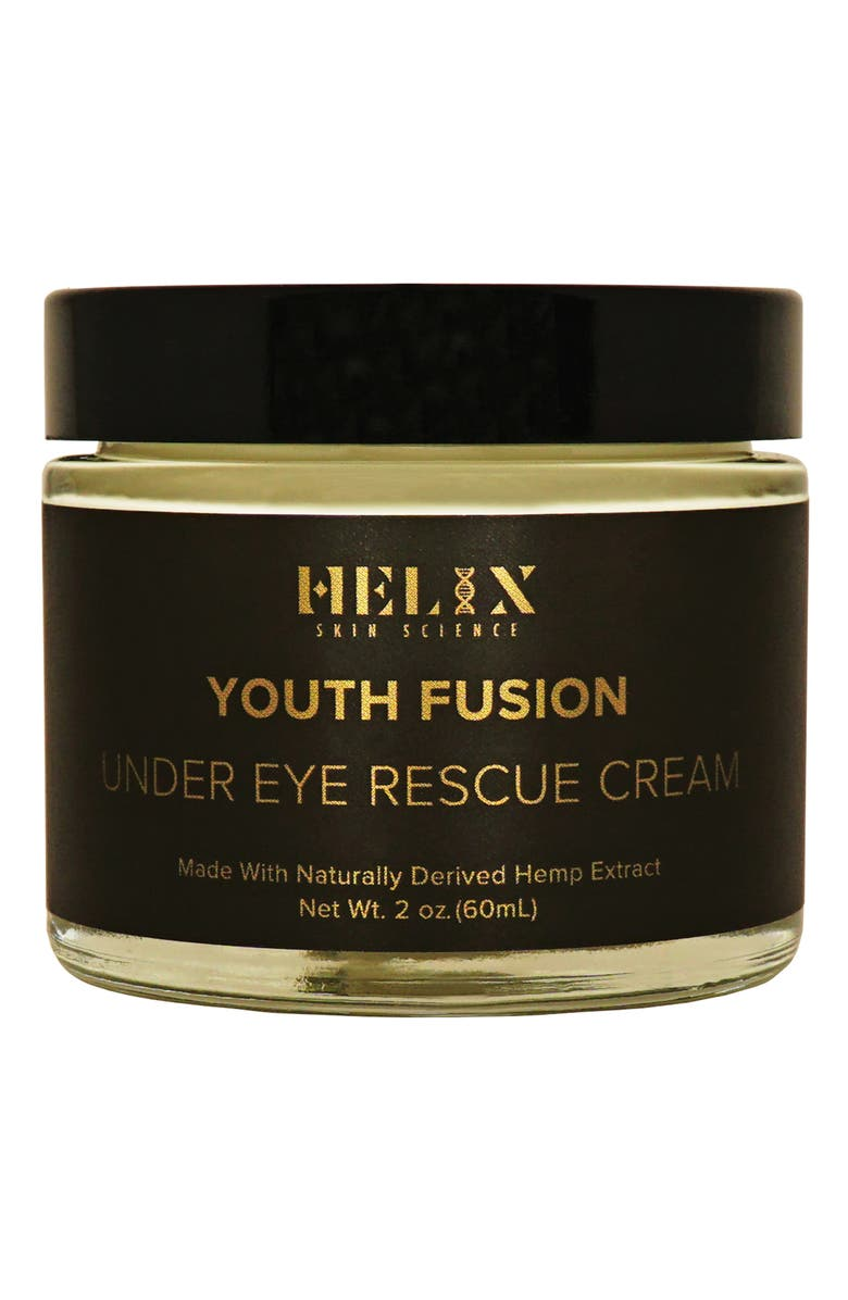 HELIX SKIN SCIENCE Youth Fusion Under Eye Rescue Cream with CBD, Main, color, NO COLOR