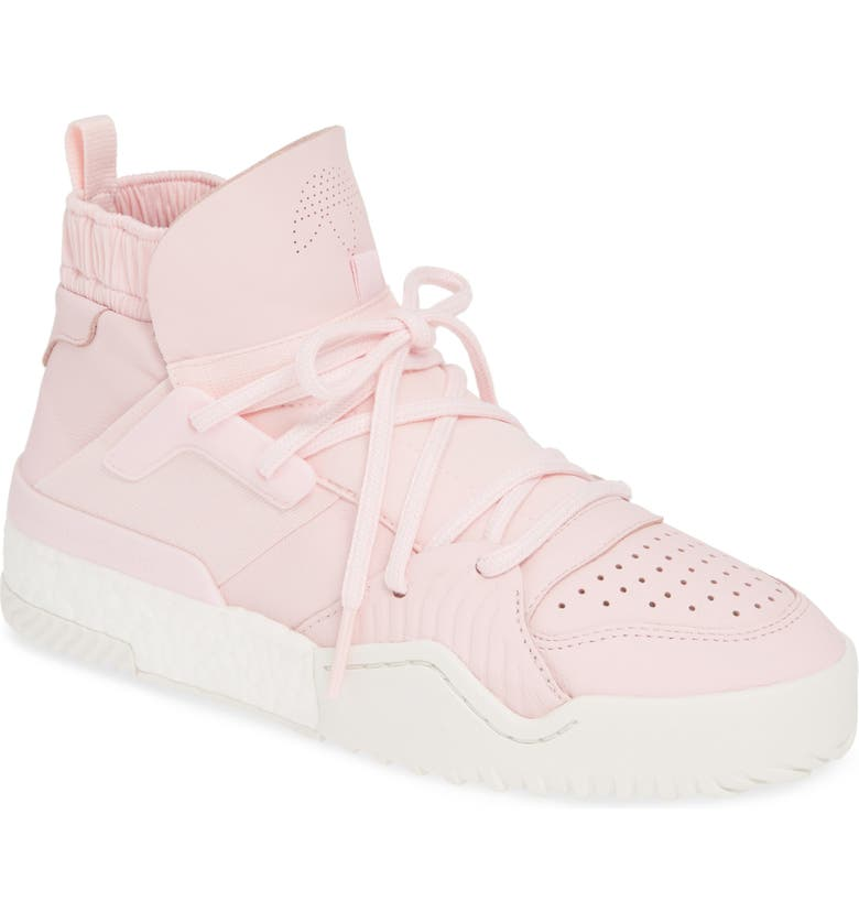 ADIDAS BY ALEXANDER WANG BBall High Top Sneaker, Main, color, PINK