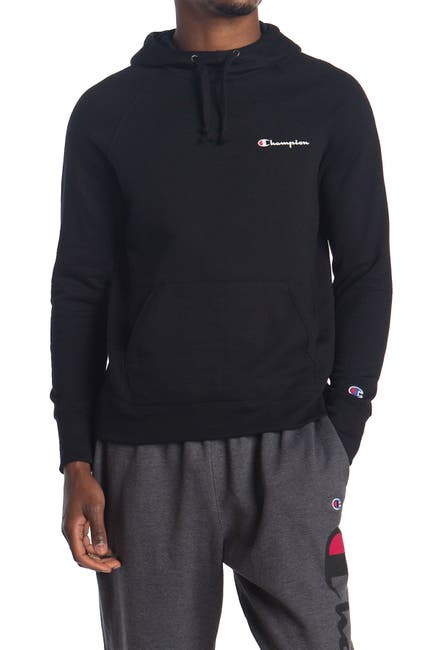 Image of Champion Powerblend Left Chest Hoodie