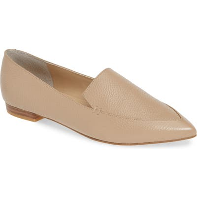 Marc Fisher Ltd Zurri Pointy Toe Loafer, Beige