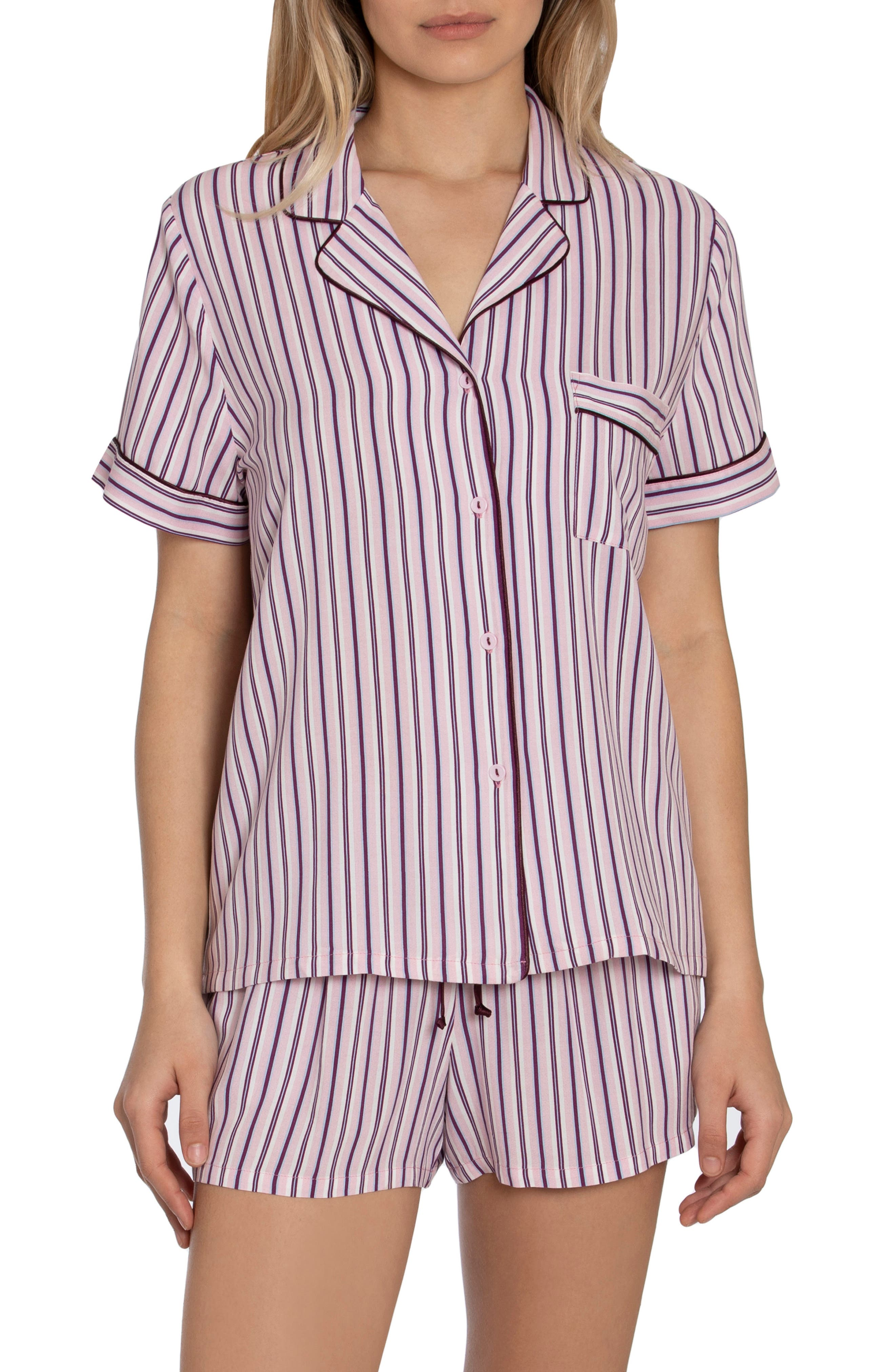 Beautiful Dreamer Stripe Short Pajamas