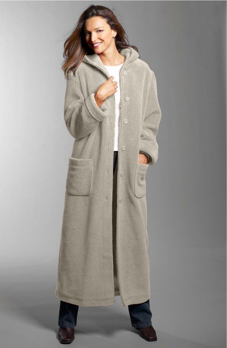 ee664718e08 Hooded Berber Fleece Coat