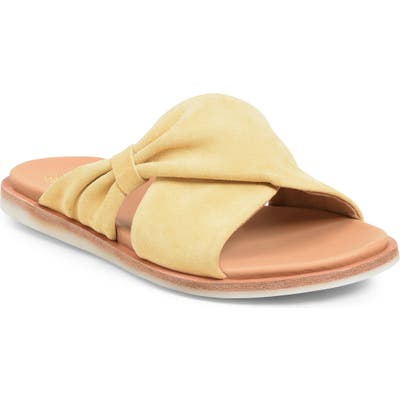 Kork-Ease Zel Slide Sandal, Yellow